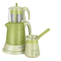 Arzum AR-334 Ehlikeyif Çay Ve Kahve Robot Seti Yeşil