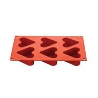 Aryıldız Siliconart 6 Lı Kalp Kalıbı (Küçük)