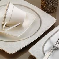Kütahya Porselen Aliza Bone 83 Parça 25153 Desenli Yemek Takımı