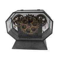 Çarklı Dekoratif Masa Saati