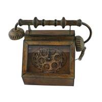 Çarklı Dekoratif Antik Masa Saati