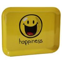 Smiley Sarı Tepsi