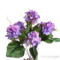 Yedifil Dahlia Dekoratif Çiçek Lila 1 Alana 1 Bedava