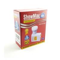 Showmax Ultra Hd 4K Twin Lnb 0,1Db