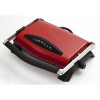 Era SM-20 Press Çıkarılabilir Plakalı Izgaralı Tost Makinesi - Kırmızı
