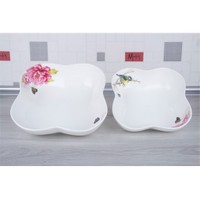 LoveQ Gül Serisi Lux Porselen 2'Li Salata Kasesi 147299