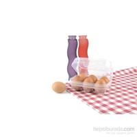 Titiz Eggo Yumurta Saklama Kabı 6 Bölmeli