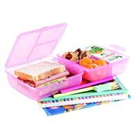 Lux Plastic L322 Magic Lunch Box (Beslenme için Saklama Kabı)