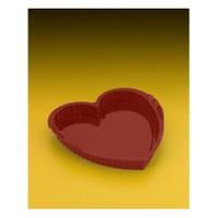 Metaltex Silikon Kalp Şekilli Kek Kalıbı 24*23