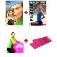 Ebru Şallı Pilates Seti (2 DVD + Pilates Topu + Pilates Bandı)