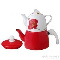 Remetta Rosa Emaye Çaydanlık Rd-141