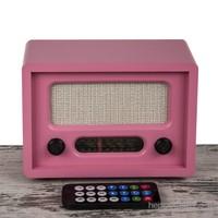 Mukko Home Nostaljik Radyo Pembe - Uzaktan Kumandalı