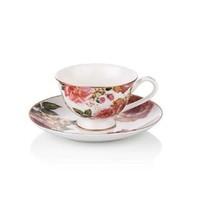 Noble Life Red Rose 6 Kişilik Çay Fincanı Seti - 17315