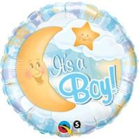Baby Boy Bubbles Folyo Balon 56 Cm