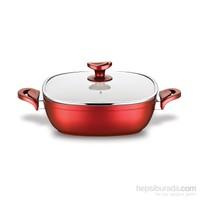 Schafer Gastronomie Karnıyarık 24 Cm Kırmızı