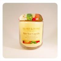 H&H Büyük Mum New Year Cupcake