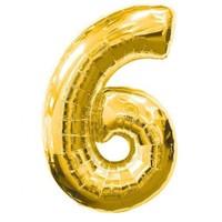 Parti Şöleni 6 Folyo Balon Gold 1 Adet