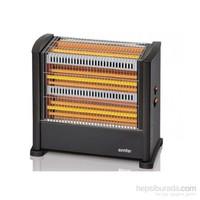 Simfer Nero 1650W Quartz Isıtıcı
