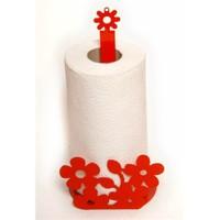 Atadan Çiçek Ferforje Havluluk-Kırmızı