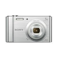 "Sony W800 20.1MP 5x Optik Zoom 2,7"" LCD Ekran Dijital Fotoğraf Makinesi- Gümüş"