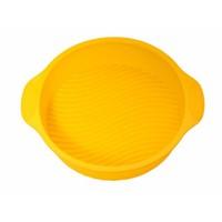 Atadan Yuvarlak Büyük Silikon Kek Kalıbı-Sarı