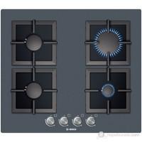 Bosch PPP619B21E 4 Gözü Gazlı Siyah Cam Ankastre Ocak