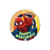 Parti Paketi Spiderman Birthday Folyo Balon