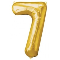 Parti Paketi 7 Sayısı AltınSupershape Folyo Balon