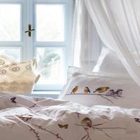 Karaca Home Sunny Beyaz Çift Kişilik Ranforce Nevresim Takımı