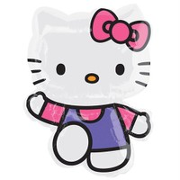 Pandoli Supershape Folyo Hello Kitty Pembe Balon