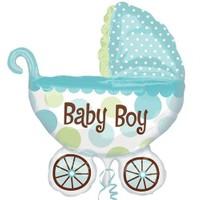 Pandoli Supershape Folyo Baby Buggy Boy Balon