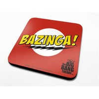 Pyramid International Bardak Altlığı - Big Bang Theory Bazinga Red