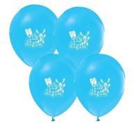 Pandoli 25 Adet İlk Dişim Baskılı Metalik Mavi Balon