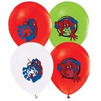 Pandoli 25 Li Spiderman Baskılı Latex Renkli Balon