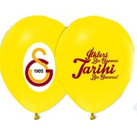Pandoli 10 Lu Galatasaray Baskılı Latex Renkli Balon