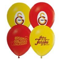 Pandoli 25 Li Galatasaray Baskılı Latex Renkli Balon