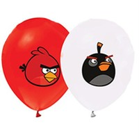 Pandoli 10 Adet Latex Angry Bird Baskılı Balon