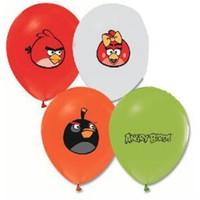 Pandoli 25 Adet Latex Angry Bird Baskılı Balon