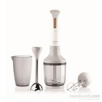 Arzum AR1014 Prostick 1500W Çubuk Blender Seti - Beyaz