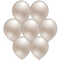 Parti Paketi İnci Beyazı Metalik Balon 25'Li