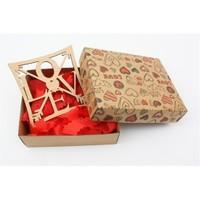 Ayşegül Evleniyor Kutu İçinde Love Yazılı Bardak Altı 02