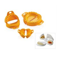 Buffer 3'Lü Çiğ Börek Kalıbı - Ravioli Mold