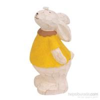 Hepsi Dahice Fun Candle Tavşan Sarı Büyük H10.5Cm