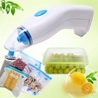 LoveQ Gıda Koruyucu Vakum Makinesi + 10 Adet Vakumlu Poşet