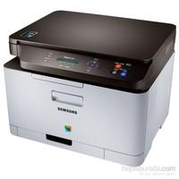 Samsung SL-C460W Fotokopi + Tarayıcı + Wifi Airprint Renkli Laser Yazıcı