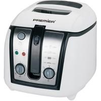 Premier PDF 5615 2,5 Lt 1800 W Fritöz-Beyaz