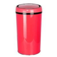 Hiper Sensörlü Çöp Kovası 12 Lt. Kırmızı