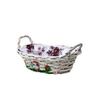 Fidex Home Ekmek Sepeti-Beyaz Horoz