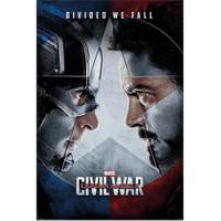 Pyramid International Maxi Poster Captain America Civil War Face Off