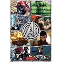 Pyramid International Maxi Poster - The Avengers Comic Panels